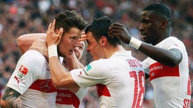 Daniel Ginczek: Secured Stuttgart's victory