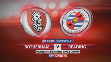 Rotherham v Reading