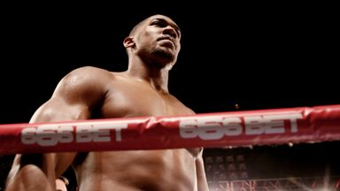 Anthony Joshua : Is heading to the top, says Froch