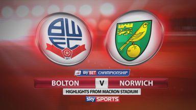 Bolton 1-2 Norwich