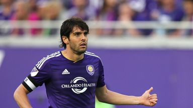 Kaka: Was sent off for