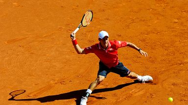 Kei Nishikori raced past Martin Klizan to reach final