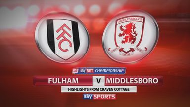 Fulham 4-3 Middlesbrough