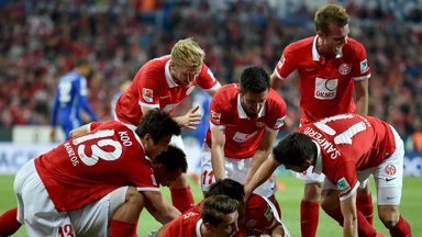 Mainz will be playing top-flight football again next term