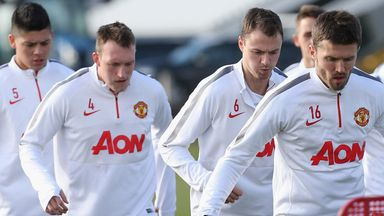 Manchester United will have to cope with big absences in defence and midfield