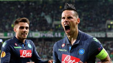 Favourites Napoli take on Dnipro in the last four