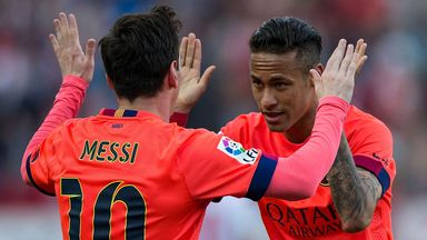 Lionel Messi and Neymar will sit out Barcelona
