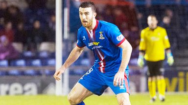Ross Draper: Inverness midfielder misses two games