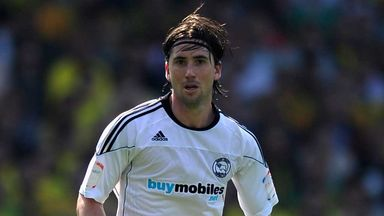 Shaun Barker: Derby defender in action in 2011 before his lengthy injury lay-off