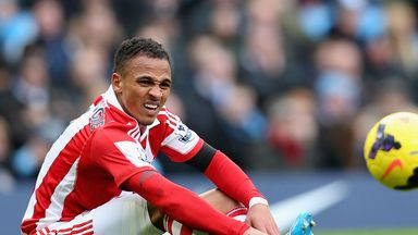 Stoke striker Peter Odemwingie has extended his tenure
