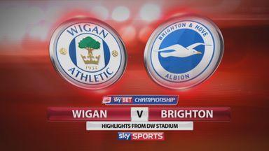 Wigan 2-1 Brighton