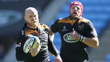 Joe Simpson (left) is hoping to make a late World Cup charge