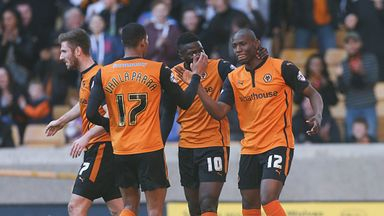 Benik Afobe: Grabbed vital equaliser for Wolves