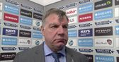 Allardyce - They were too good for us