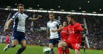Adam Lallana: Part of Liverpool side frustrated at West Brom