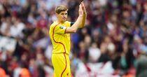 Steven Gerrard: Liverpool skipper was denied a Wembley farewell on Sunday