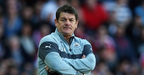 John Carver: Hoping for a good atmosphere against Tottenham on Sunday