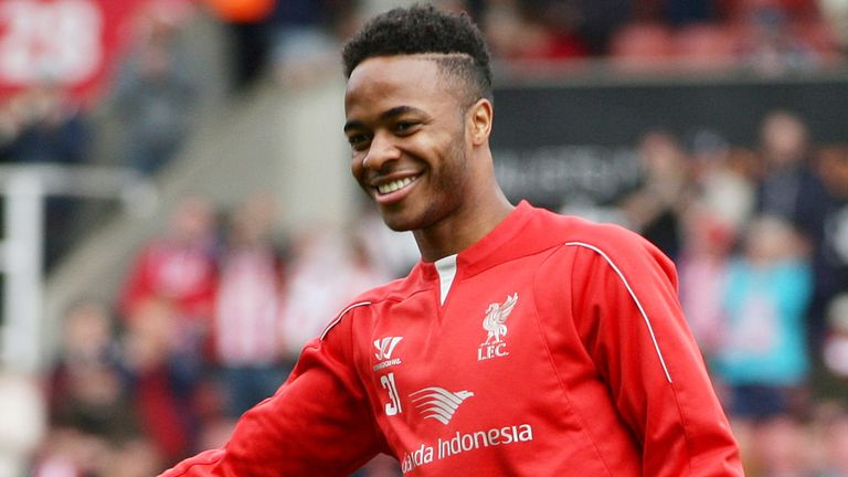 Raheem Sterling: Valued at £50m by Liverpool