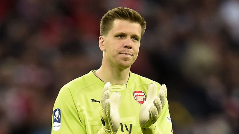 Could Arsenal goalkeeper Wojciech Szczesny be on his way to Serie A?