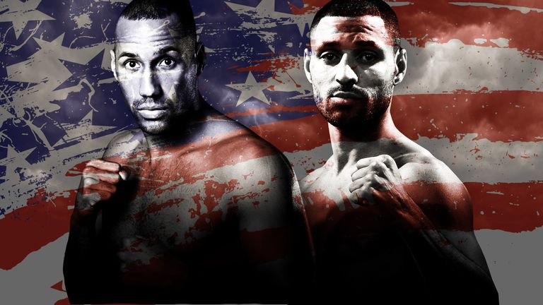 James DeGale and Kell Brook are two Brits who savoured world title wins in America