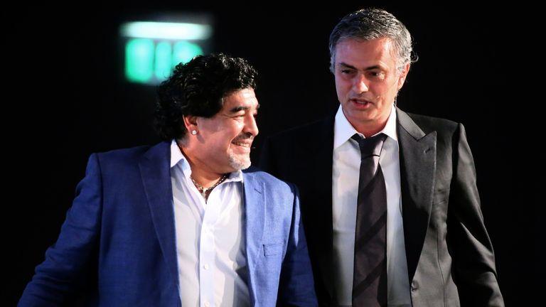Diego Maradona: Says Mourinho is the greatest