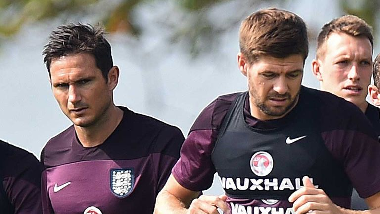 Former Premier League stars Frank Lampard and Steven Gerrard were ruled out earlier in the week due to injuries