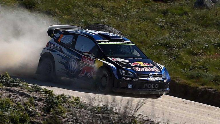 Jari Matti Latvala: Portugal Rally leader after day two