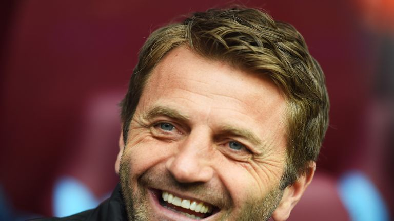 Tim Sherwood will have one eye on the FA Cup final.