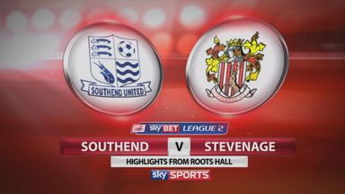 Southend 3-1 Stevenage (4-2 agg)