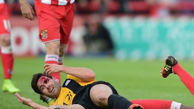 Michael Timlin: Could return for play-off second leg
