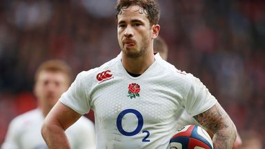 Danny Cipriani: Scored 33 points against the Barbarians on Sunday before incident