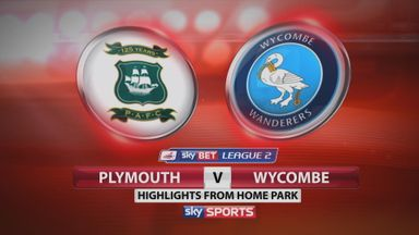 Plymouth 2-3 Wycombe