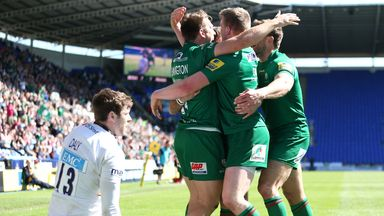 London Irish: Could travel to the US
