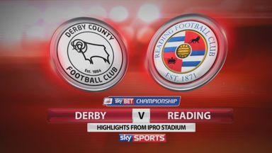 Derby 0-3 Reading