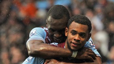 Leandro Bacuna: Hopes Christian Benteke will be at Aston Villa next season.