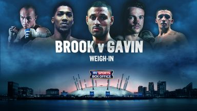 Watch the weigh-in live