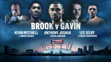 Order Brook v Gavin on Sky Sports Box Office