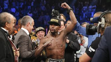 Floyd Mayweather will big to make it 49 wins and no defeats as a pro against Andre Berto in Vegas