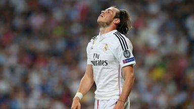 Gareth Bale: Missed at least three presentable chances
