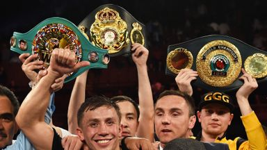 Gennady Golovkin: Has re-tweeted Barry Hearn's call for a Wembley fight with Carl Froch