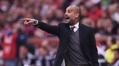 Pep Guardiola is yet to negotiate a new deal at Bayern