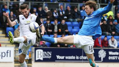 Graeme Shinnie: Battles with Murray Davidson at McDiarmid Park