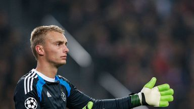 Jasper Cillessen of Ajax could be on his way to Manchester United.