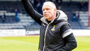 John Hughes was voted Scotland's Manager of the Year after a record-breaking campaign with Inverness CT