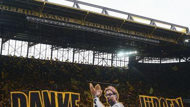 Borussia Dortmund fans say goodbye to Jurgen Klopp