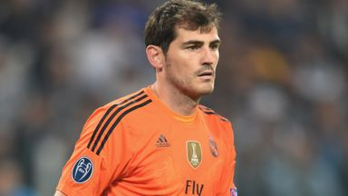 Iker Casillas has played over 500 times for Real Madrid - his only club