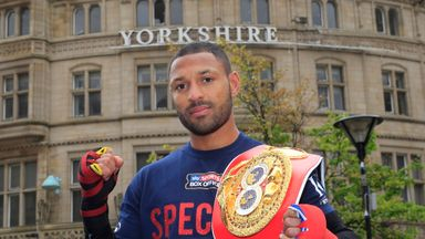 Kell Brook: Faces Frankie Gavin on Saturday night (Pic by Lawrence Lustig)