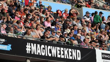 A bumper turn-out is expected for this weekend's Super League bonanza at St James' Park