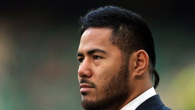 England's Manu Tuilagi was suspended by Stuart Lancaster until January.