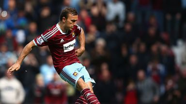 Mark Noble: West Ham are next in action against Bournemouth on Saturday
